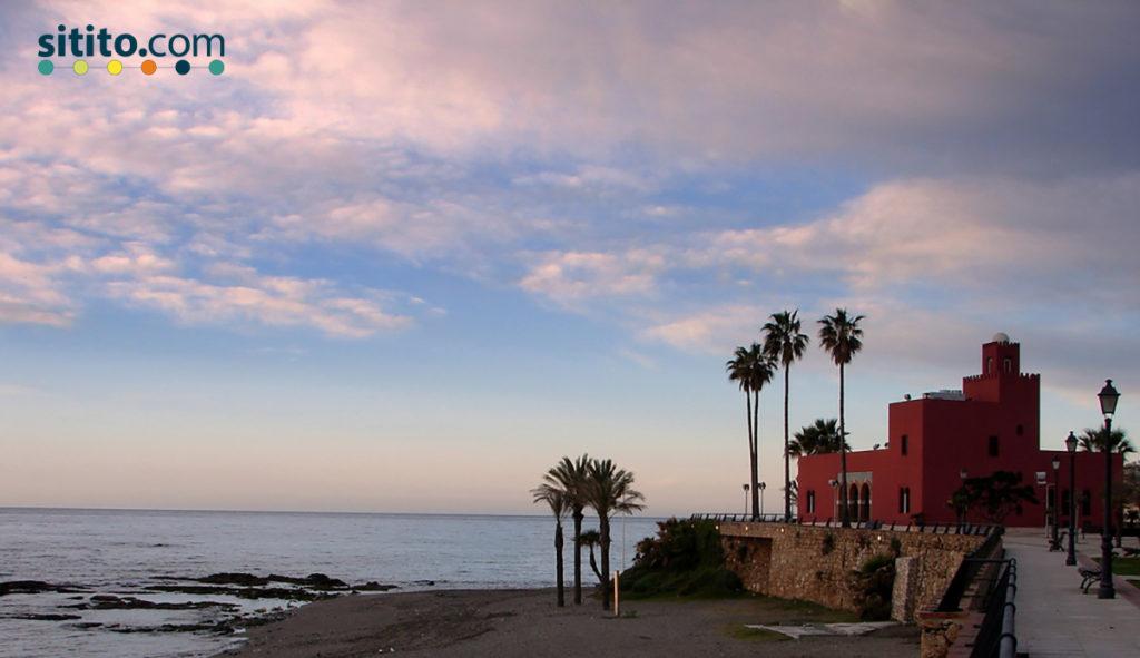 Playa-del-Bil-Bil-Sitito-mejores playas de la Costa del Sol occidental