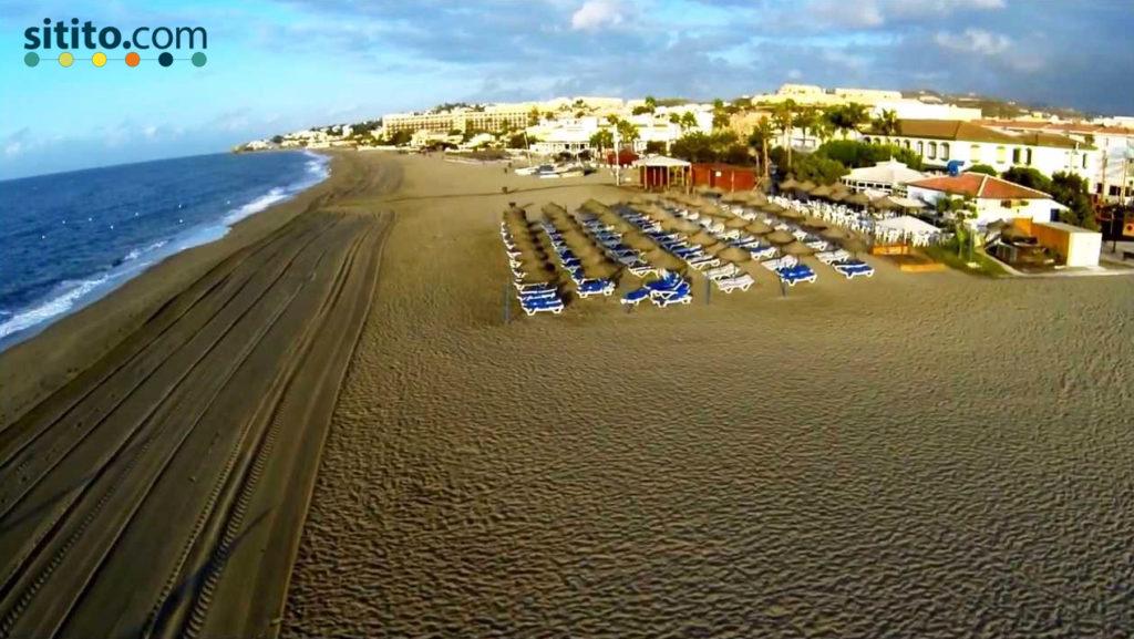 Playa-de-la-Butibamba-Sitito-mejores playas de la Costa del Sol occidental