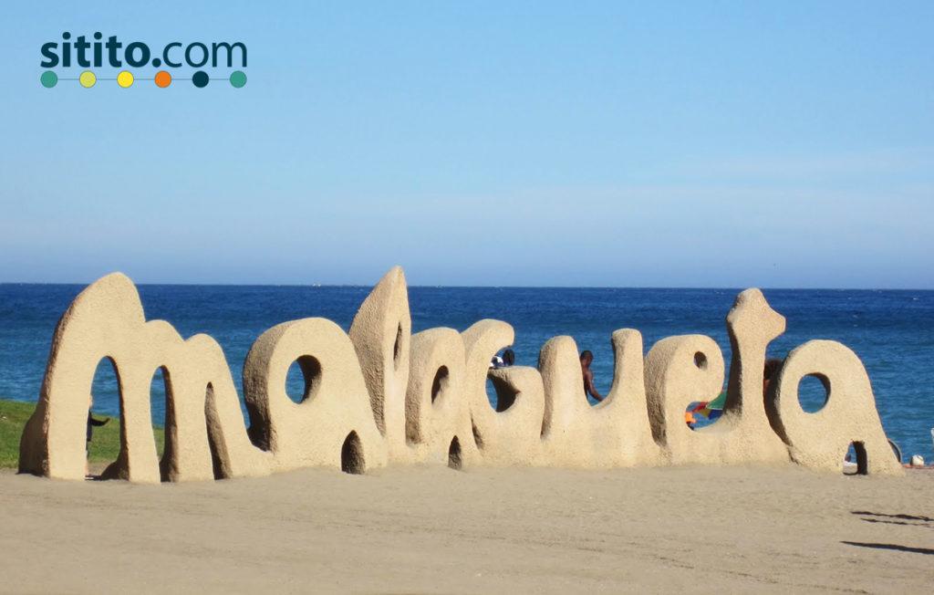 Playa-de-la-malagueta-Sitito-mejores playas de la Cosa del Sol occidental